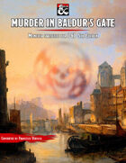 """Murder in Baldur's Gate"" Monster Stats for D&D 5E"