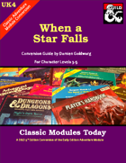 Classic Modules Today: UK4 When a Star Falls (5E)