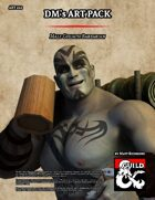 ART222 Male Goliath Barbarian Stock Art
