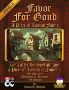 Favor for Gond: A piece of Lantan found