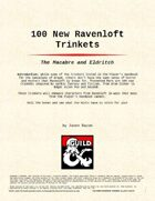 100 New Ravenloft Trinkets