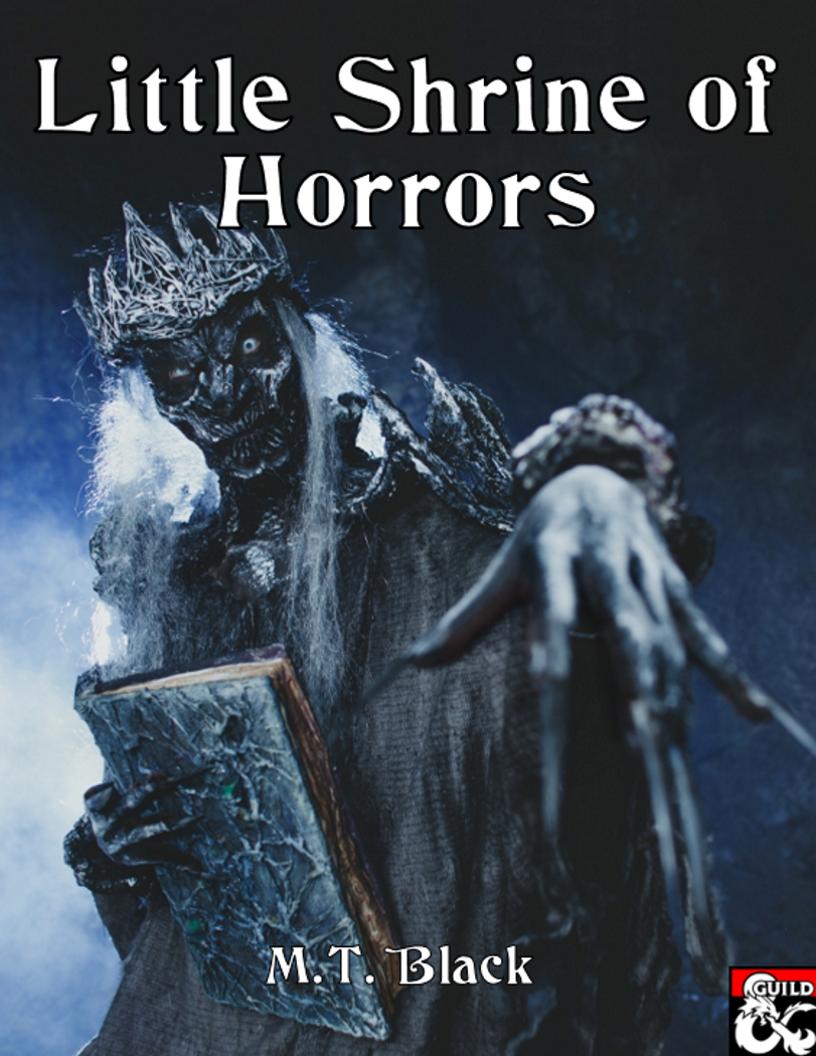 Cover of Little Shrine of Horrors