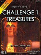 Treasure Trove 1 - Challenge 1 Treasures