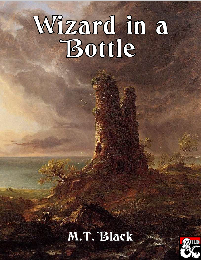 Cover of Wizard in a Bottle