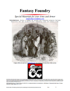 Fantasy Foundry