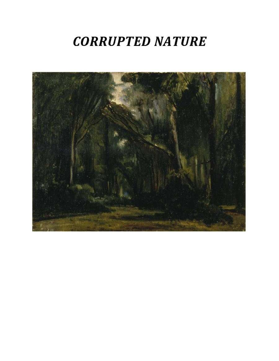 Cover of Corrupted Nature