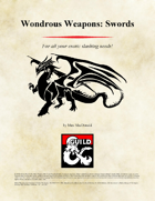 Wondrous Weapons: Swords