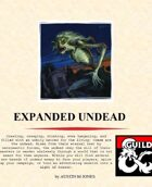 Expanded Undead