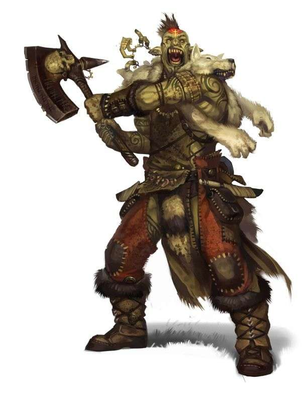 Orc Race - Dungeon Masters Guild | Dungeon Masters Guild