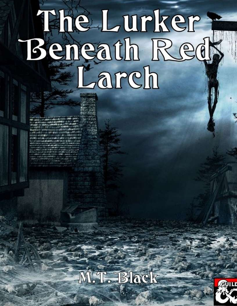 Cover of Lurker Beneath Red Larch
