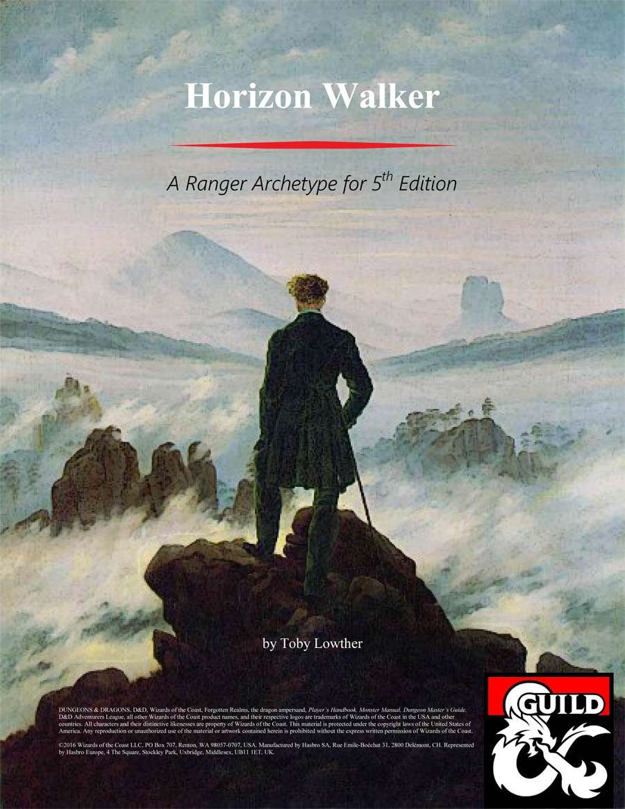 Horizon Walker - Ranger Archetype Option - Dungeon Masters Guild