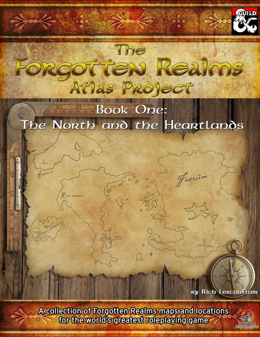 The Forgotten Realms Atlas Project: Book One - Dungeon Masters Guild    DriveThruRPG com