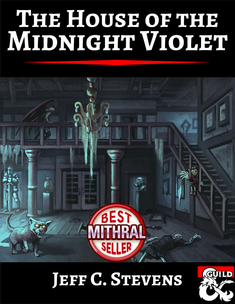 Cover of The House of the Midnight Violet