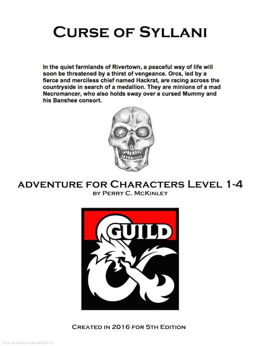 Curse of Syllani - Dungeon Masters Guild | Dungeon Masters Guild