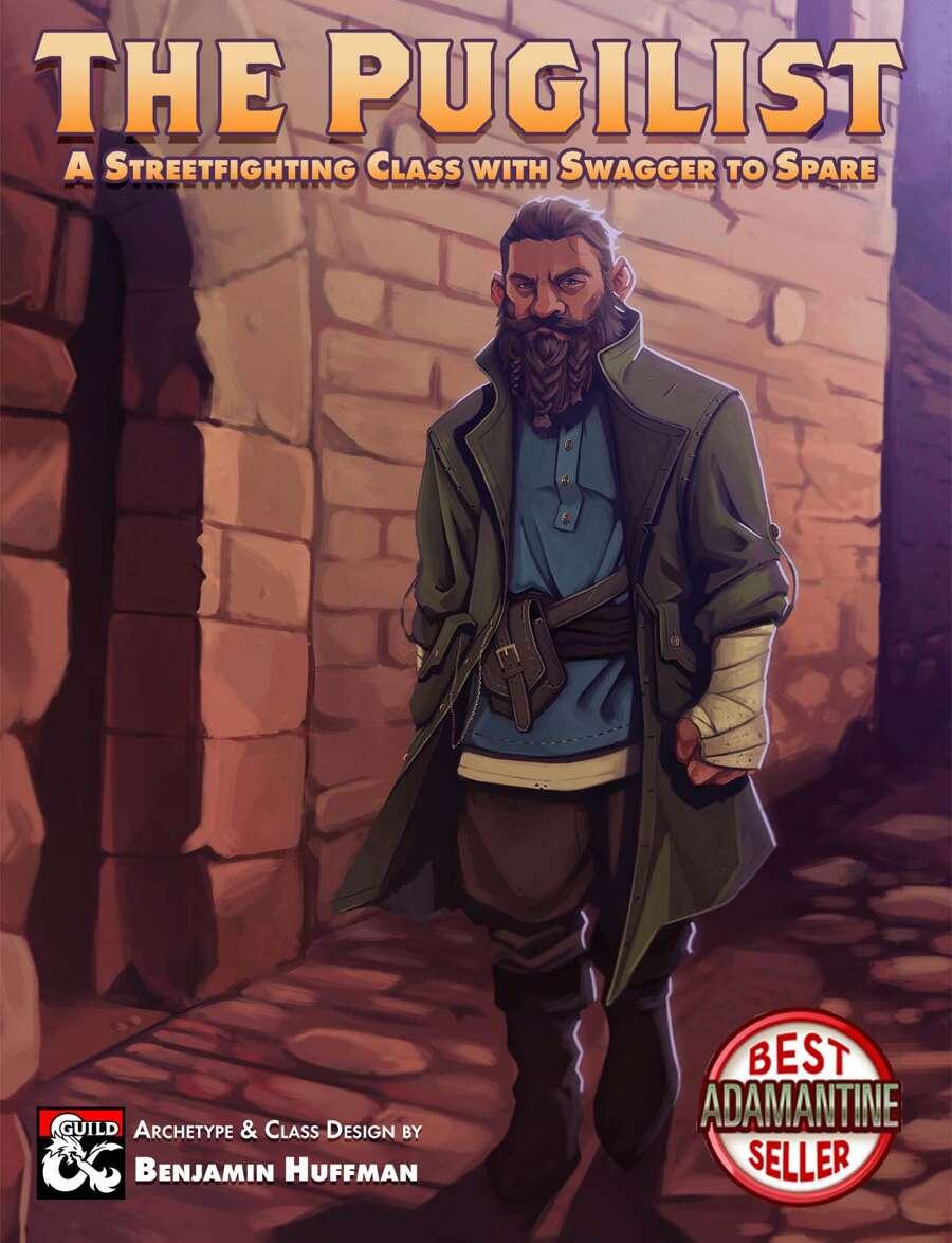 the Pugilist Class - Dungeon Masters Guild | Pegasus Digital