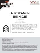 CCC-BMG-01 CORE 1-1 A Scream in the Night