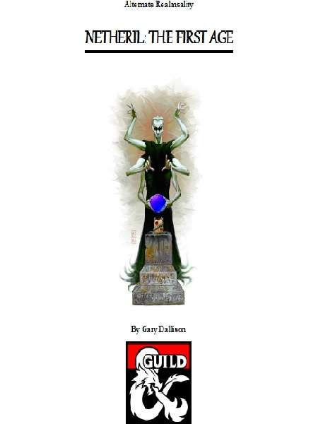 Netheril: The First Age - Dungeon Masters Guild | Dungeon Masters Guild