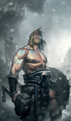 Barbarian archetype: Path of the Jötunn Lord