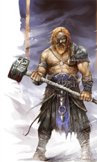 Barbarian archetype: Path of the Savage