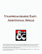 Spells of the Unapproachable East