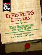 Elminster's Letters #3