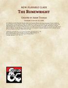 Runewright Class