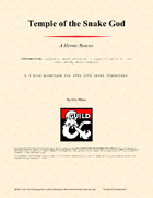Weekly Micro Dungeons - Temple of the Snake God