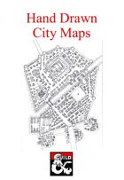 Hand drawn City Maps