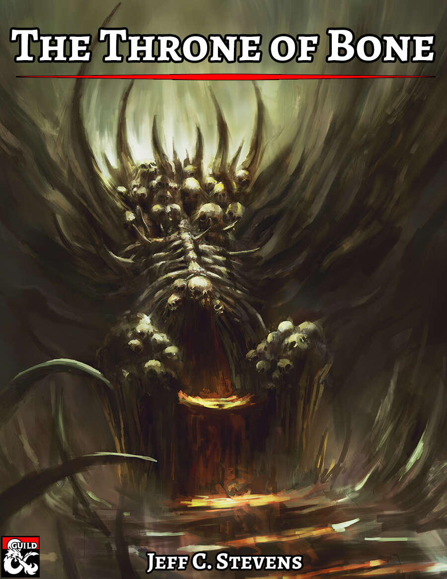 Cover of The Throne of Bone