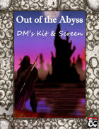 Out of the Abyss DM's Kit & Screen