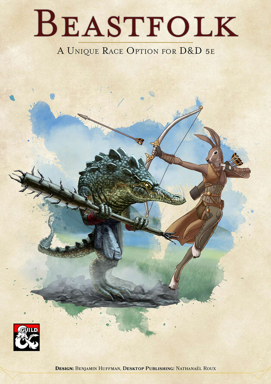 Beastfolk, an Original Race for D&D 5e