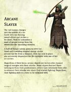 Arcane Slayer Class