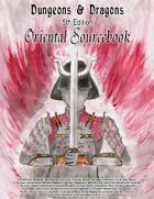 D&D 5th Edition Oriental Sourcebook