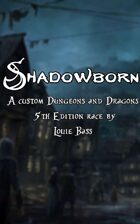 Shadowborn Race 5e