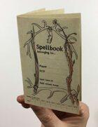 Tiny Fillable Spellbook Sheet