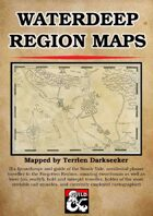 Waterdeep Region Maps