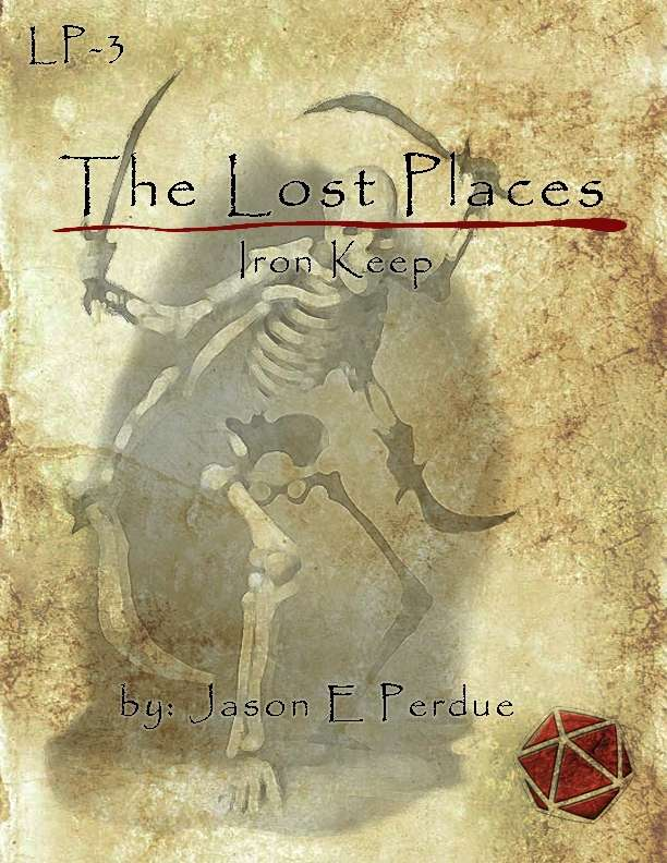 Cover of LP-3 The Lost Places: Iron Keep