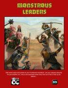 Monstrous Leaders