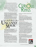 The Emporium of Uncanny Magic — Curious Rings