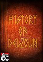 History of Delzoun (PotA 5e)