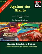 Classic Modules Today: G1-2-3 Against the Giants (5e)