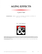 5e Aging Effects