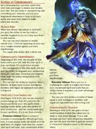 Chronomancer: The School of Chronomancy (5e Wizard Tradition/Archetype)