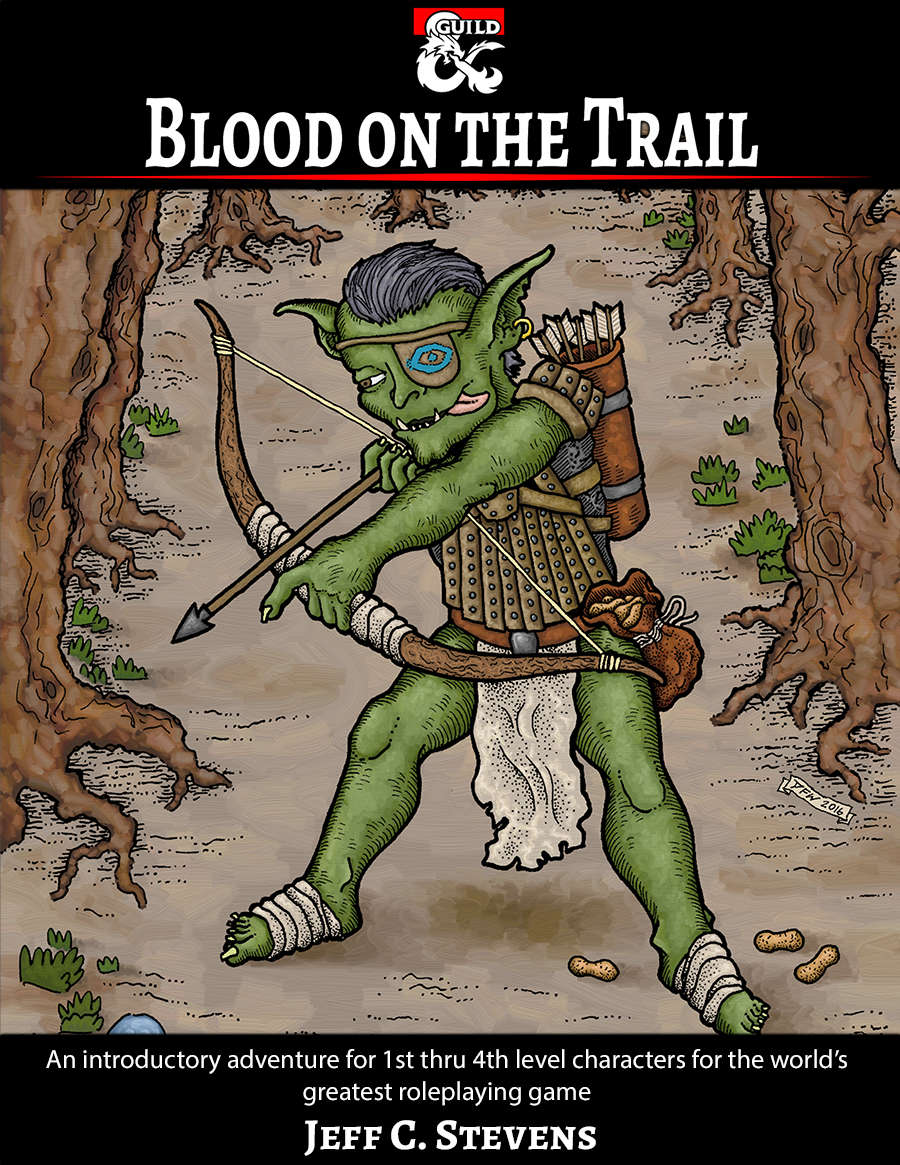 Cover of Blood on the Trail