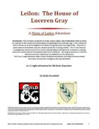 Leilon: The House of Luceren Gray
