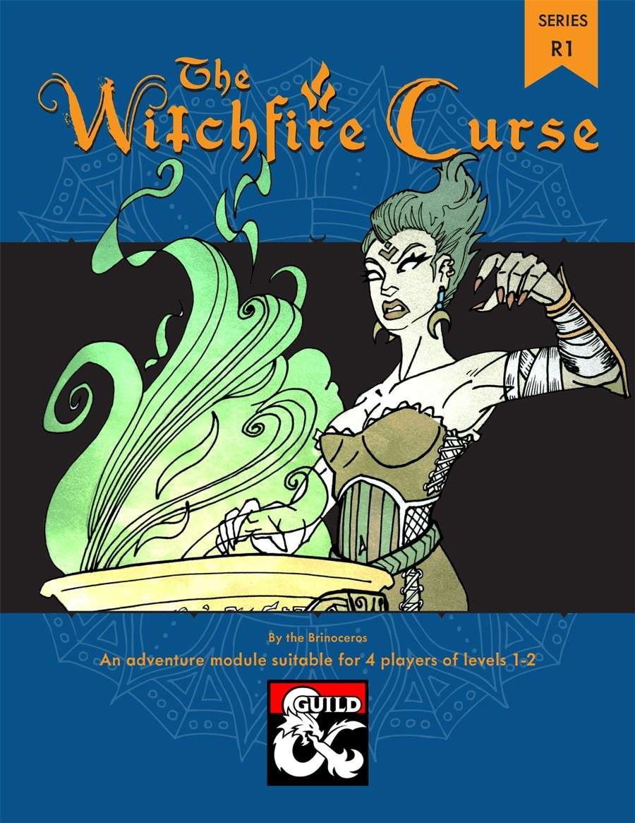 Cover of The Witchfire Curse