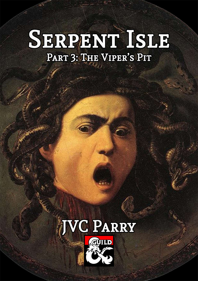 Cover of Serpent Isle Part 3: The Viper's Pit