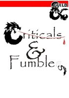 5E Player critical hits & fumbles