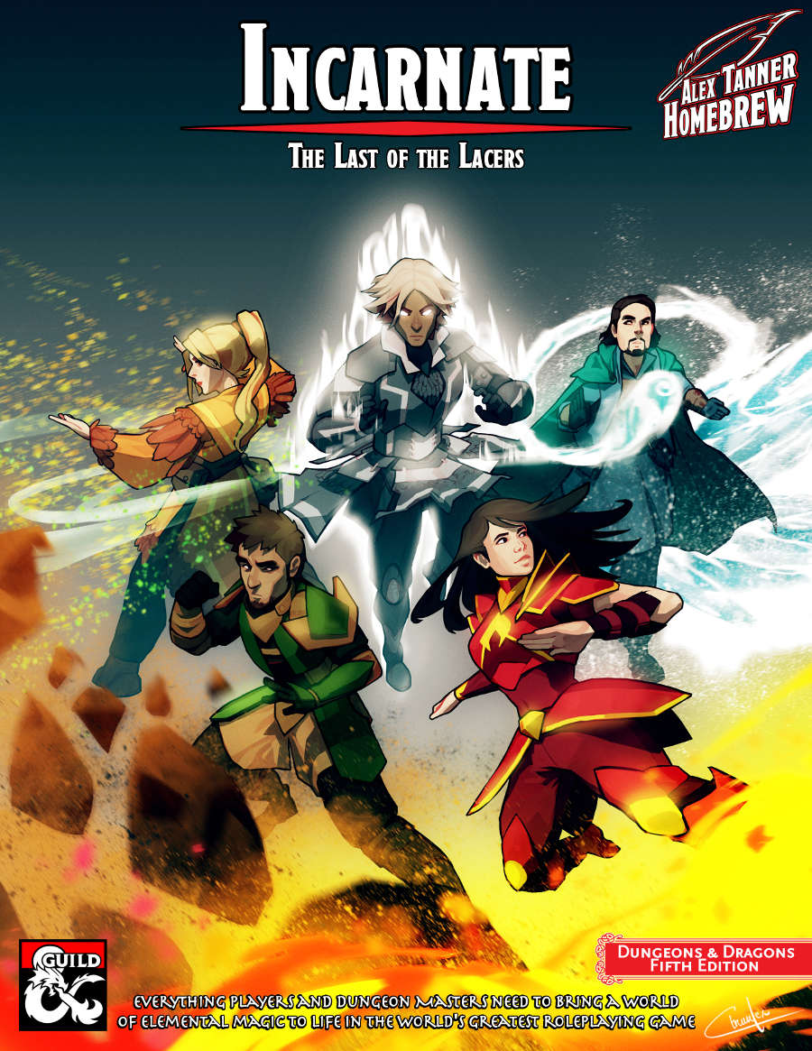 Incarnate: The Last of the Lacers - Dungeon Masters Guild | Dungeon Masters  Guild