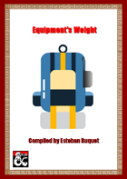 Equipment's Weight